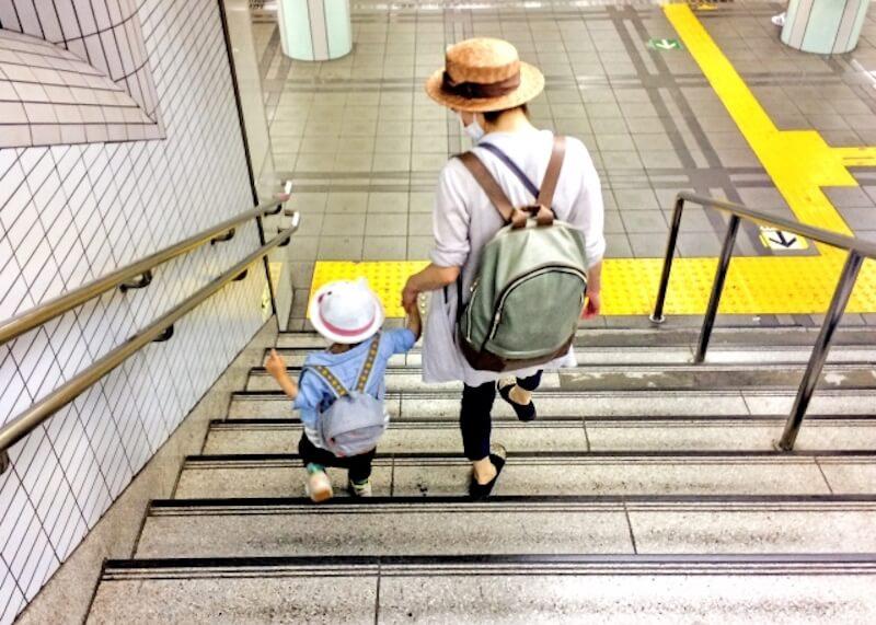 共働き主婦と子供