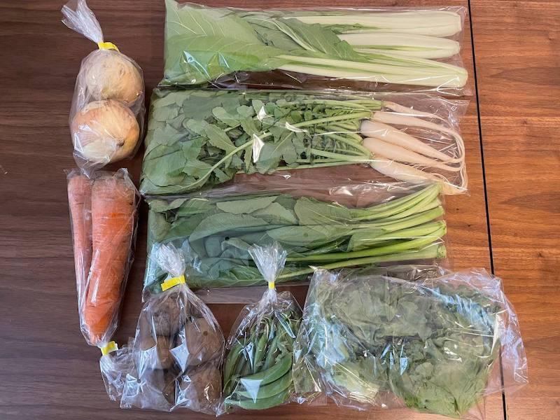 ふるさと納税の野菜